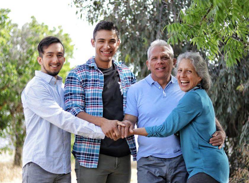 Irene Salazar Family