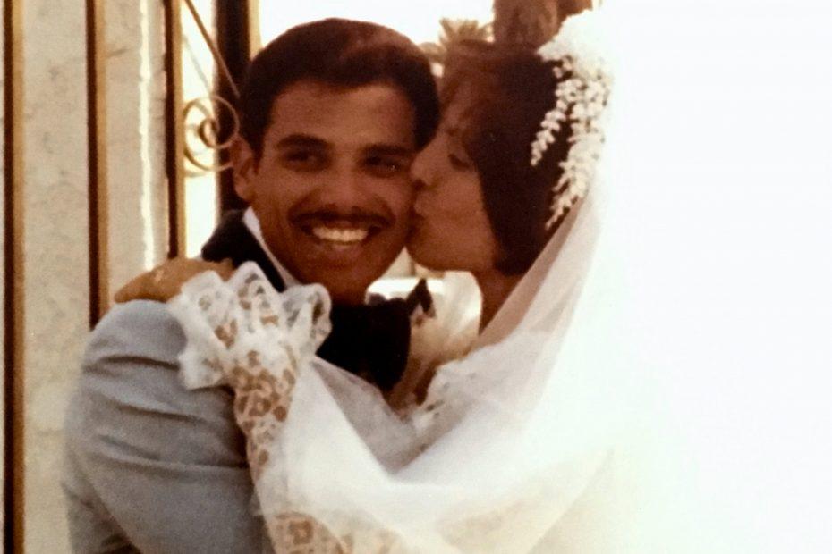 Irene Salazar wedding
